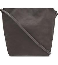 Rick Owens Small Leather Pouch Dark Dust