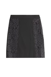 Dkny Skirt With Lace Black