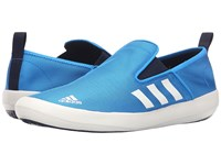 Adidas B Slip On Dlx Shock Blue White Collegiate Navy Men's Shoes