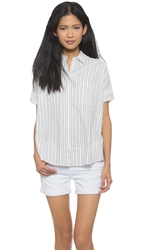 Madewell Courier Striped Shirt