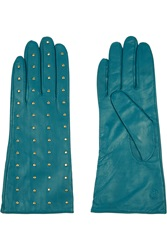 Tory Burch Studded Leather Gloves