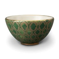 L'objet Fortuny Cereal Bowl Peruviano Green