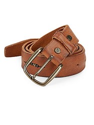 Will Leather Goods Anslem Leather Belt Tan