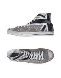 Happiness Footwear High Tops And Trainers Men Grey