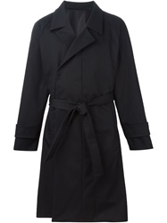 Juun.J Classic Trench Coat Black