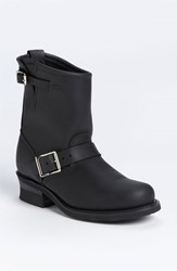 Women's Frye 'Engineer 8R' Leather Boot Black