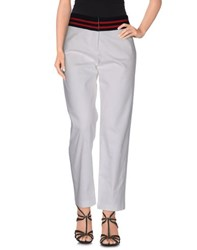 Harvey Faircloth Denim Denim Trousers Women White