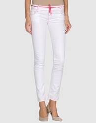 Jfour Denim Pants White