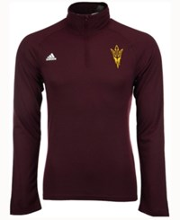 Adidas Men's Arizona State Sun Devils Primary Screen Ultimate Quarter Zip Pullover Maroon