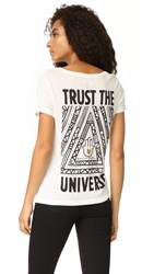 Spiritual Gangster Trust The Universe Scoop Tee Stardust
