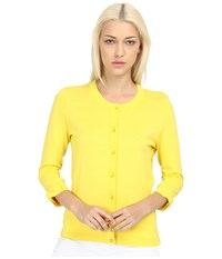Kate Spade Somerset Cardigan Lemon Yellow Women's Sweater