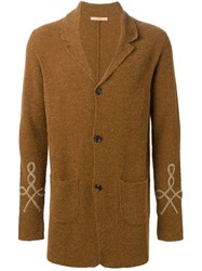 Nuur Buttoned Cardigan Brown