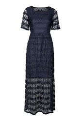 Goldie Field Of Love Lace Maxi Dress By Navy Blue
