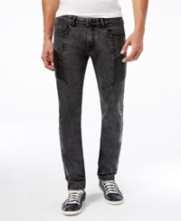 Inc International Concepts Men's Bloom Skinny Black Wash Jeans Only At Macy's