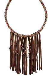 Sweet Deluxe Oklahoma Necklace Braun Brown