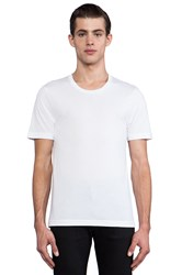 Blk Dnm T Shirt 3 White