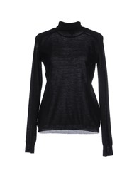 Armani Collezioni Knitwear Turtlenecks Women Black