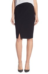 Trouve Women's Trouve 'Wrap Effect' Pencil Skirt