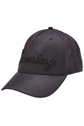Dsquared2 Baseball Cap With Virgin Wool And Silk Black