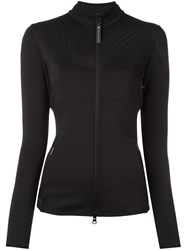 Adidas By Stella Mccartney Zipped Sweatshirt Black