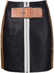 Alexander Wang Patchwork Skirt Black