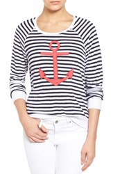 Women's Sundry Anchor French Terry Pullover