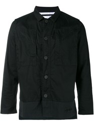 White Mountaineering Snap Fastening Jacket Black