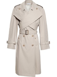 J.W.Anderson J.W. Anderson Wrap Front Trench Coat Yellow And Orange