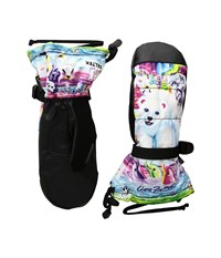 Celtek Gore Tex Vera Mitten Lisa Frank Polar Bear Gore Tex Gloves Multi