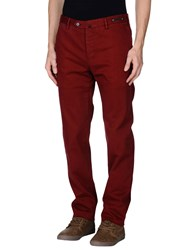 Pt01 Trousers Casual Trousers Men Maroon