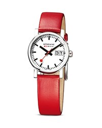 Mondaine Evo Ladies Big Date Watch 30Mm