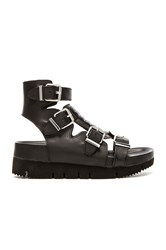 Ash Tribal Sandal Black