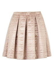 Bzr Circe Quilted Skirt Pink