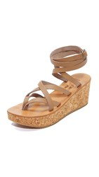 K. Jacques Tautavel Wedge Sandals Pul Taupe