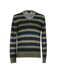Henry Cotton's Sweaters Light Green