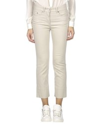 Loro Piana Denim Denim Trousers Women Beige