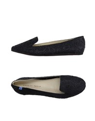 Charles Philip Footwear Moccasins Women Black