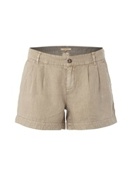 White Stuff Lottie Linen Shorts Natural