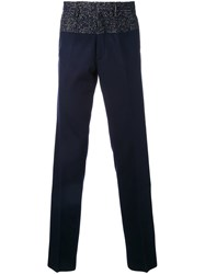Kolor Straight Trousers Blue