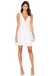 Lumier All About You Fit And Flare Dress White