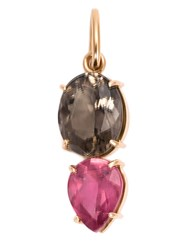 Irene Neuwirth 18Kt Rose Gold And Pink Tourmaline Pendant Metallic