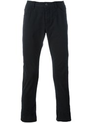 Attachment Slim Fit Trousers Black