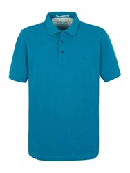 Racing Green Ilkley Plain Pique Polo Blue