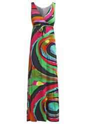 Smash Lodon Maxi Dress Mix Colour Multicoloured