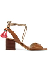 Sam Edelman Shani Tasseled Leather Sandals