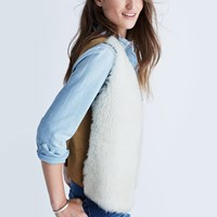 Madewell Shearling Vest