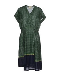 Boy By Band Of Outsiders Knee Length Dresses Green