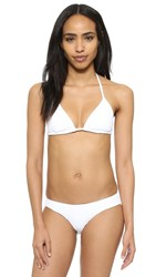 Zimmermann Separates Triangle Bikini Top White