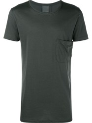 Lot 78 Lot78 Chest Pocket T Shirt Grey