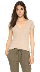 James Perse Scoop Tee Island